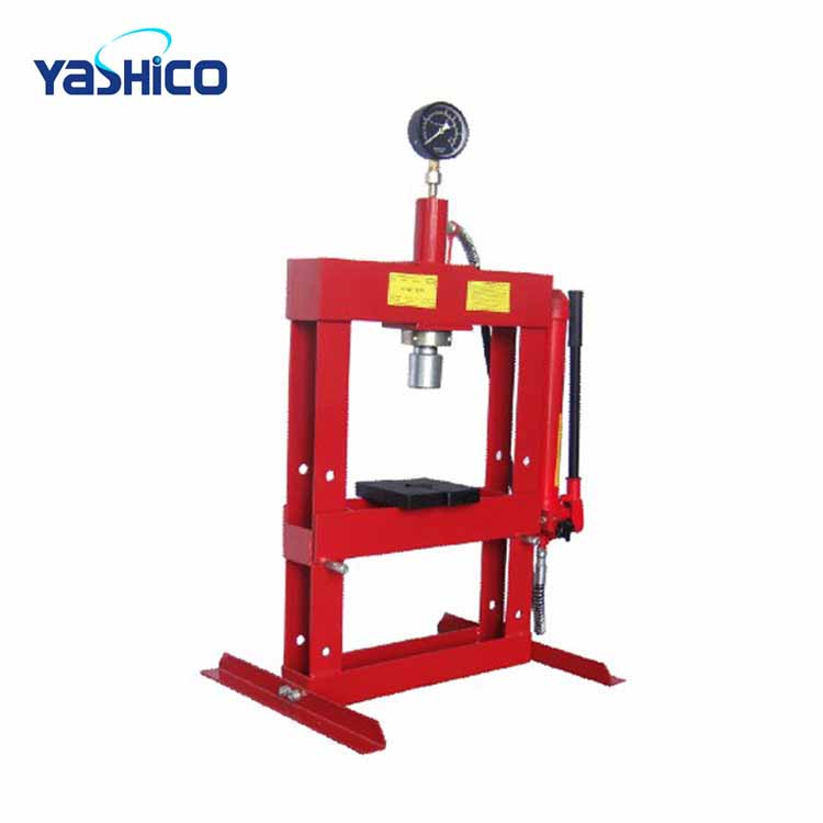Rouge de haute Qualité 10 Tonnes Presse Hydraulique Avec Jauge
