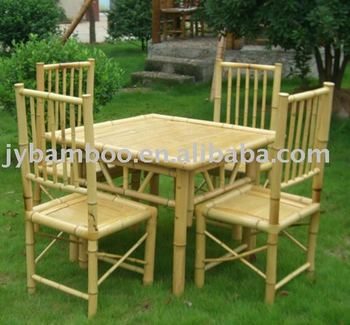 Indoor/outdoor Bamboo Furniture/bamboo Table/bamboo Chair - Buy ...
