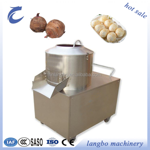 Commercial Used Potato Peeling Machine/Restaurant Electric Industrial Potato Peeling Machine/ Potato Peeler and Cutter