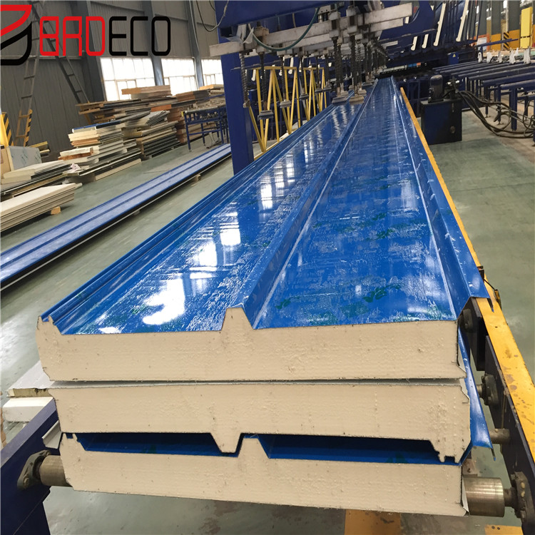 Heat Insulation Ppgi/ppgl Pu Polyurethane Foam Pur Pir Puf Sandwich  Panel/board - Buy Pur Sandwich Panels,Pu Sandwich Panels,Pu Foam Sandwich  Panels