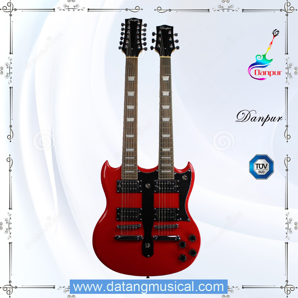 double neck sg style electric guitars