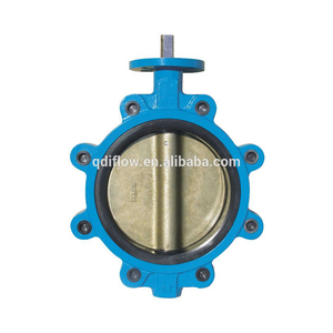 Cast Iron and Ductile Iron Bare Shaft Butterfly Valve