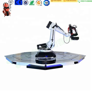 New design entertainment and industrial robot VR Mechanical Robotic Arm 9D vr cinema vr machine with Roller Coaster movies