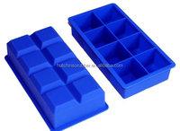Custom eco-friendly silicone ice cube tray OEM