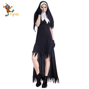fa6db230d18 Xxl Nun Costume