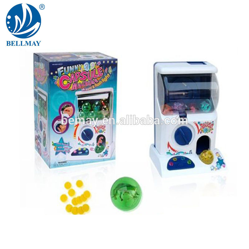 Bemay Speelgoed Hot Battery Operated Kids Muntautomaat Game Machine