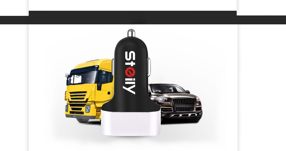 mobile phone mini 3 port USB car charger for iphone 6 6s for Samsung S6 MP3 MP4 player