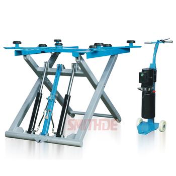 Best Sale Smithde Portable Mid Rise Scissor Lift Machine ...