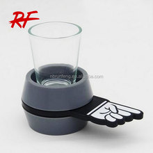 arrow shot drinking game gifts/ spinning shot glass shot spinner