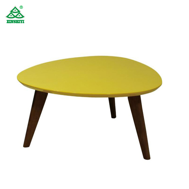 Modern hotel dining room Solid Wood Dining Table