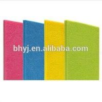 Sound Control Polyester Fiber Acoustic Panel For Recording Studio/music Hall/home Wall Board