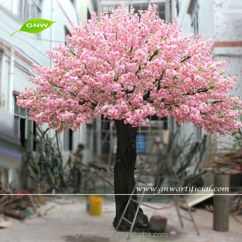 large outdoor artificial decorative trees 12ft pink color wedding cherry  blossom tree for wedding interior decoration, View large outdoor artificial