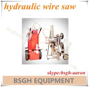 Bs-80am Portable Diamond Wire Saw,Rock Cutting Wire Saw Machine ...
