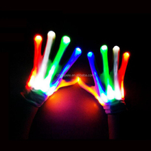 Hot selling Christmas flashing light led party gloves with good price