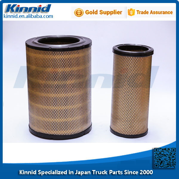 High Quality Hino Air Filters in Stock OEM 17801-3450 17801-3460 S1780-13450 17902-1150