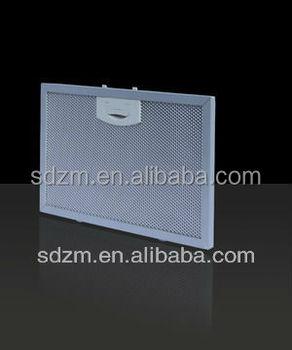 chimney range hood aluminium mesh grease filter