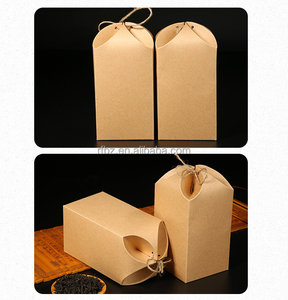 stocked kraft paper flower tea general gift box the four petals portable packaging box