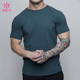 OEM T Shirt Sports Clothes Custom Mens Fitness Apparel