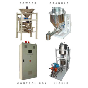 rubber glass plastic glue chemical recipe mixing continuously weigh batching system