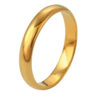 xuping jewelry wholesale 24k plated latest designs finger gold ring jewelry, wedding o-ring gold rings without stones