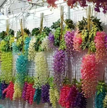 Artificial Centerpieces Wisteria Trees for Indoor Wedding Decoration