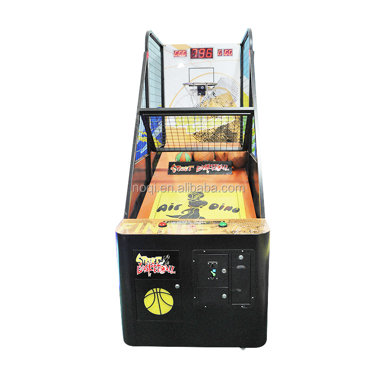 Made in china kids basketbal arcade machine score board + basketbal game voor game room