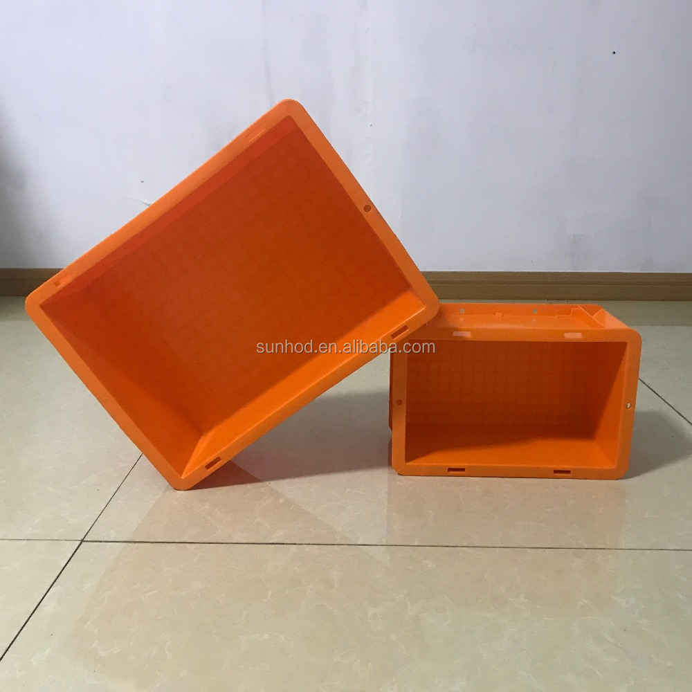 Commercio all'ingrosso Made in china cibo uso industriale fatturato di plastica tote box/casse di plastica di stoccaggio
