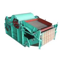 Best quality high capacity rag tearing old clothes recycling machine