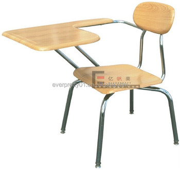 Student Chair With Tablet Arm Conference Chair With