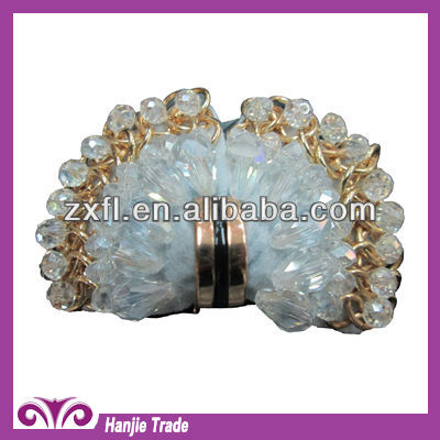 Wholesale fashion shoes decoration accessories with acrylic stone / shoe upper accessories
