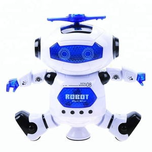 B/O Electric Dancing Space Robot, 360 degree revolving lights, music and infrared.