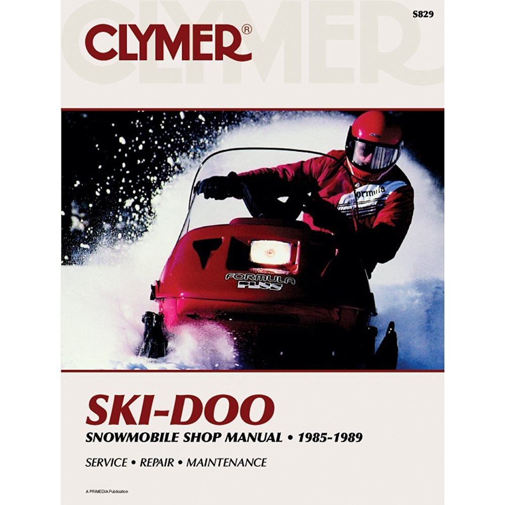 Get Quotations · SERVICE MANUAL - SKI-DOO (85-89), Manufacturer: CLYMER,