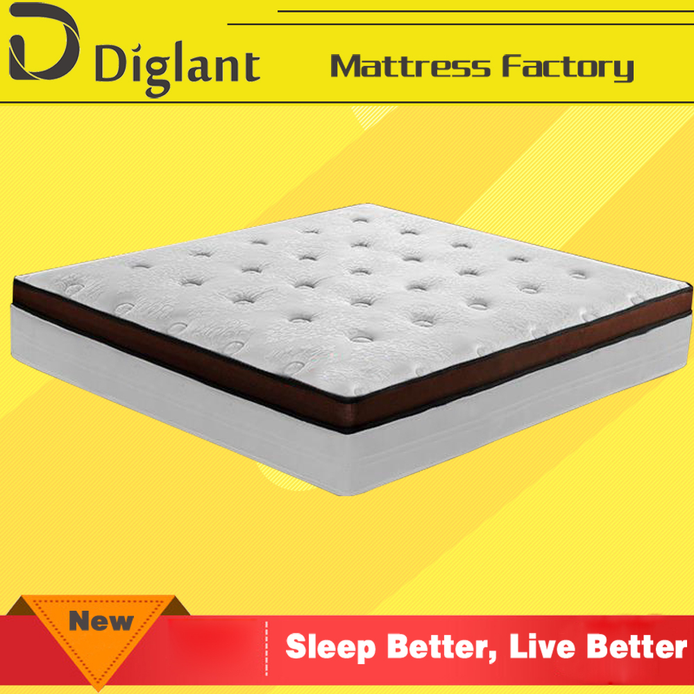 new anti-bacteria waterbed gel diamond foam mattress