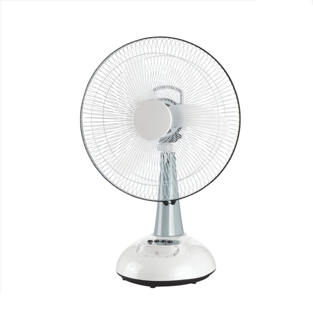 "remote control 18"" table rechargeable emergency light fan"