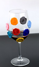 Grape shape colorful wine marks