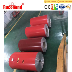 3000 Series Grade and O-H112 Temper color coated aluminum coil
