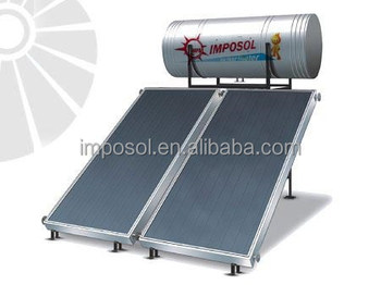 Compact Direct Indirect Solar Panel Solar Water Heater For