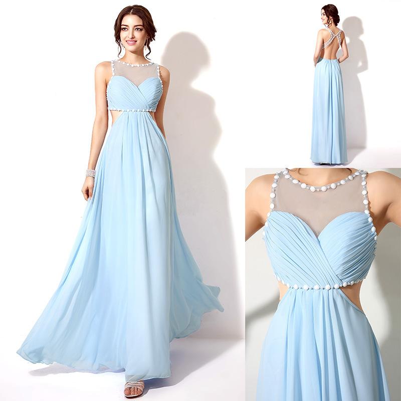 ssj-sd203 high quality royal blue plus size gown evening dress