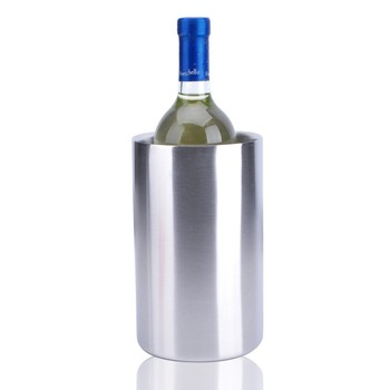 stainless steel ice bucket. 2.0L Double Wall Stainless Steel Ice Bucket Wine Cooler For One Bottle C