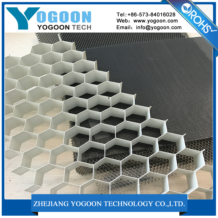 Micro aluminum honeycomb board sheet for lattice net electrical heater bee core