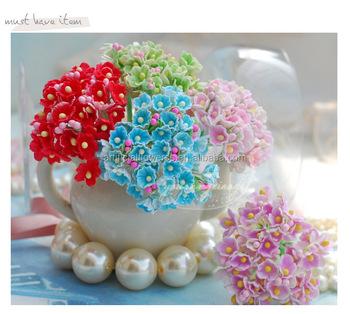 Wedding Decor Scrapbook Mini Paper Flower Buy High Quality