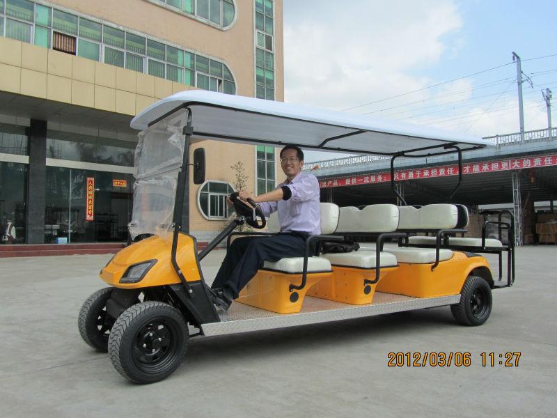 8 plazas barrio carrito de golf eléctrico usado en el aeropuerto de ...