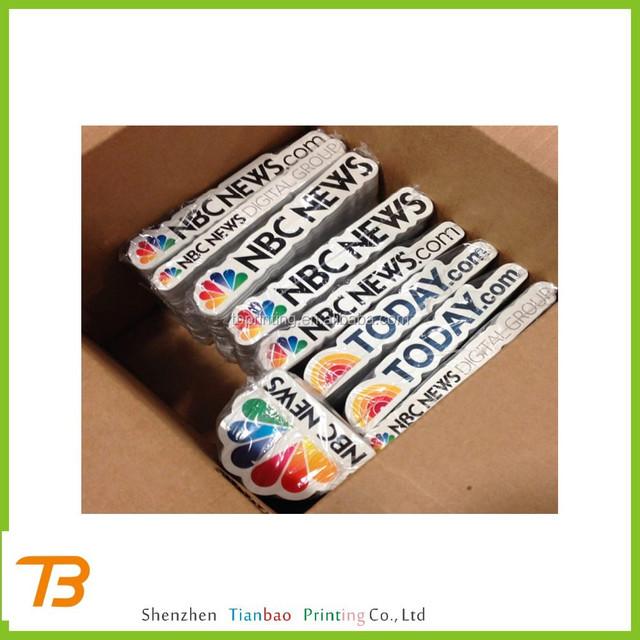 Sticker die cut type and paper pe pet pvc material sticker die cut