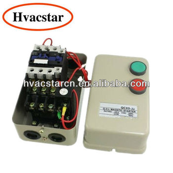 220v coil ac contactor 11kw 15 hp 3 phase motor magnetic