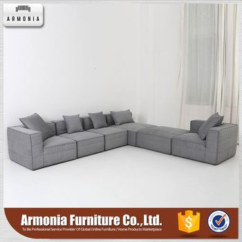 High Quality Durable Fabric L Shape Sofa Cover For