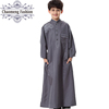 874# High quality little boys thobe clothes names wear islamic kids muslim clothing children abaya