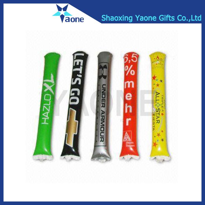 Дешевые пользовательские рекламные печатные Надувные палочки