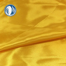 120gsm customized heavy polyester satin soft printed fabric for stripe scarf and sleeping bonnets