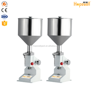 Hot sale multi functional filler cosmetic cream tube manual filling machine