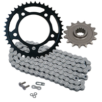 Custom aftermarket parts chain and sprocket kit for Honda cb500x